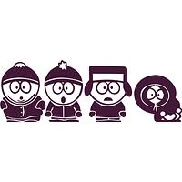 Виниловая наклейка - South Park (от 10х25см), фото 1