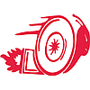 Виниловая наклейка - Turbo Улитка (от 10х15 см)