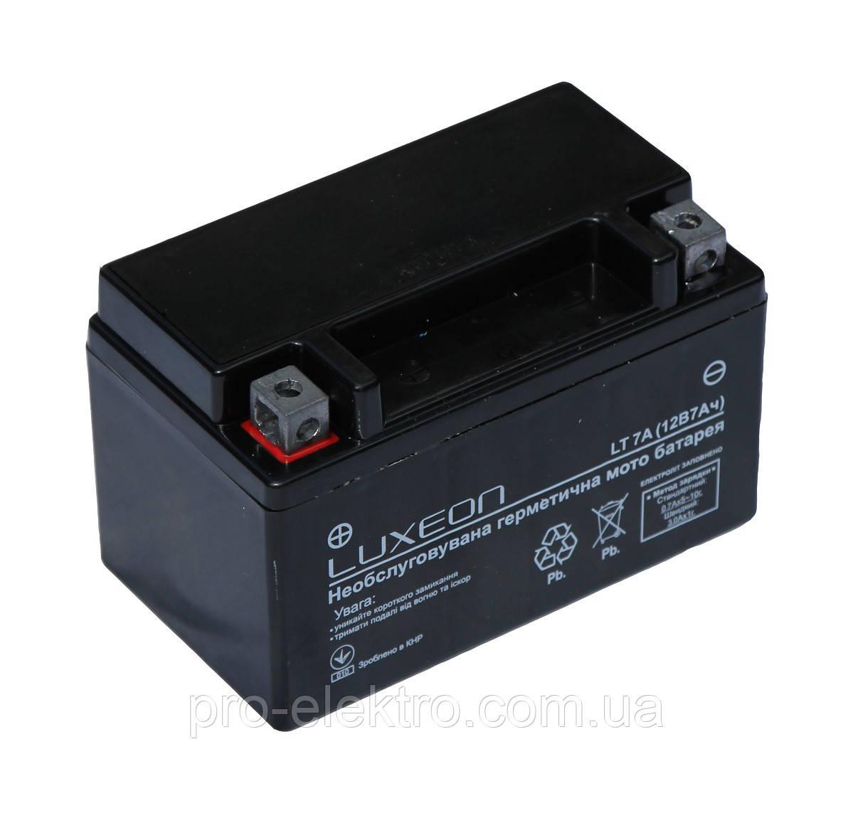 Аккумуляторная батарея LUXEON LT 7A