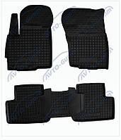 Резиновые коврики Avto- Gumm для  Renault Megane III '08   - комплект 5 шт.