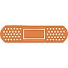 Виниловая наклейка - Пластырь  (от 5х20 см)