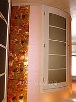 Двери межкомнатные, радиусные. Модель 17