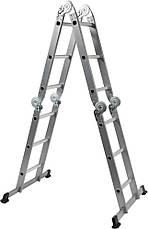 Лестница алюминиевая Vorel 17704, фото 2