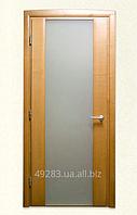 Межкомнатные двери с матовым остеклением. Модель 7