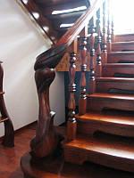 Изготовление деревянных лестниц под заказ