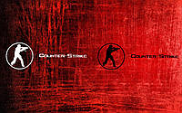 Виниловая наклейка Counter strike (от 4х15 см)