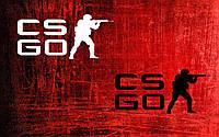 Виниловая наклейка Counter strike 4 (от 7х15 см), фото 1