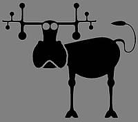 Виниловая наклейка Funny-animals 6 (от 10х10 см)