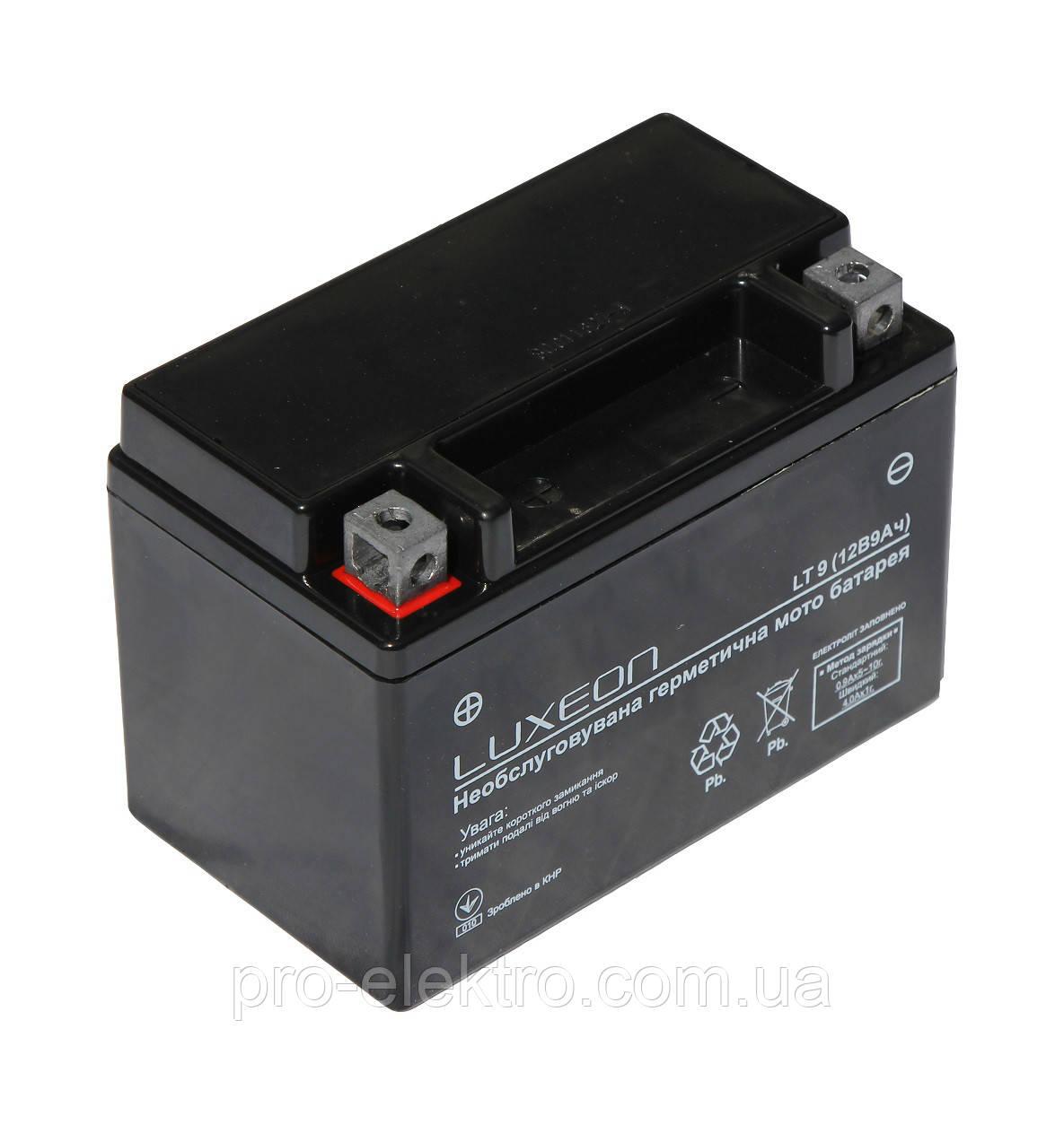 Аккумуляторная батарея LUXEON LT 9