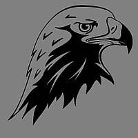 Виниловая наклейка Орёл (от 10х10 см)