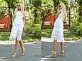 Платье миди с кружевом , фото 4