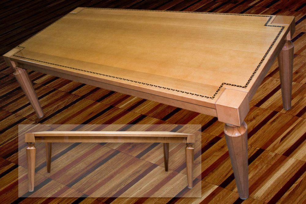 Столы из ценных сортов дерева под заказ