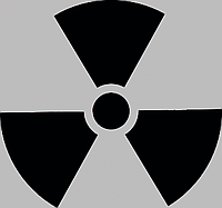Виниловая наклейка на холодильник - Radioactiv (от 5х5 см), фото 1