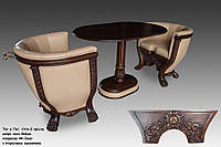 Кофейный столик (в комплекте есть кресла)