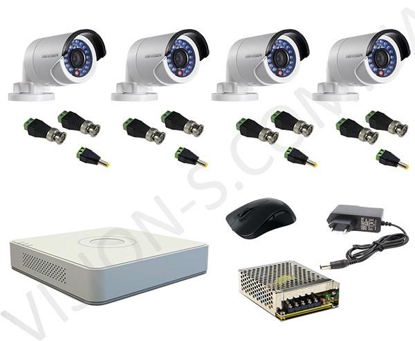 Система видеонаблюдения Hikvision 720P