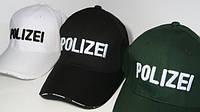 Кепка стильная Polizei логотип вышивка, фото 1