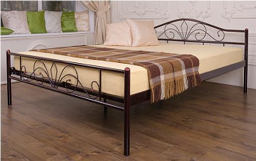 Кровать Релакс 1,6 Черная (Микс-Мебель ТМ)