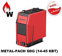 Котел твердотопливный METAL-FACH SOKOL SDG-38 45 кВт, фото 1