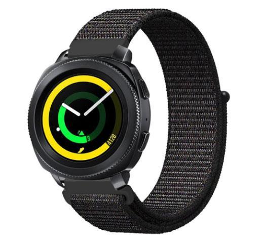Нейлоновий ремінець Primo для годин Samsung Sport Gear SM-R600 - Black