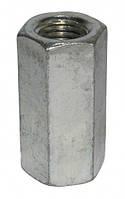 Гайка сполучна М16мм для різьбових стержнів заземлення, оцинкована DKC