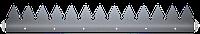 Шипованная планка 2000х41х1.8 мм. Защита забора. ТМ Кольчуга