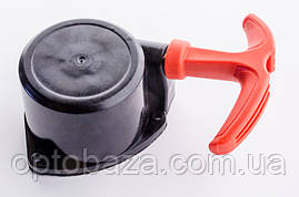 Стартер маленький с отводом (легкий старт с трещеткой) для мотокос серии 40-51 см, куб, фото 3