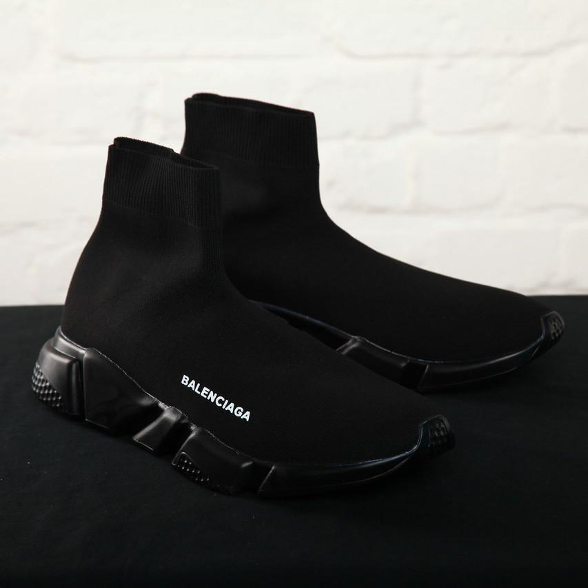 Balenciaga Black Speed Trainers (реплика)