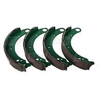 Комплект задних колодок ГАЗ 2410, 3102, 3110 барабанного тормоза LSA LA 24-3501095