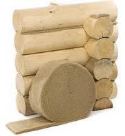 Межвенцовый утеплитель для деревянного дома в ленте джут/лен шир.11 см длина 25 м, фото 1