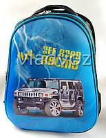 Школьный рюкзак для мальчиков ортопедическая спинка Hummer синий