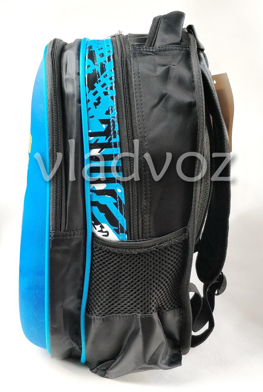 Школьный рюкзак синий Hummer