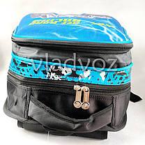 Школьный рюкзак для мальчиков ортопедическая спинка Hummer синий, фото 3