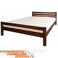 Кровать Элегант 1400*2000 (орех темный), фото 1