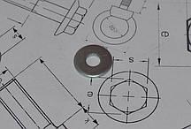 Шайба М14 увеличенная оцинкованная DIN 9021