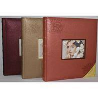 Традиционный фотоальбом poldom bd-100pg/cr opa-3 кожзам 29x32 см на 100 страниц