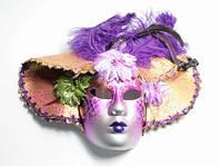 Маска Венецианская Comer Фиолетовый