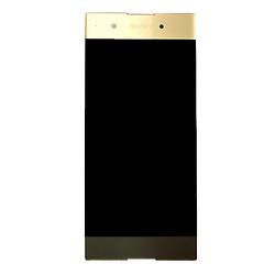 Дисплей для Sony G3412 Xperia XA1 Plus Dual с тачскрином золотистый Оригинал (проверен)
