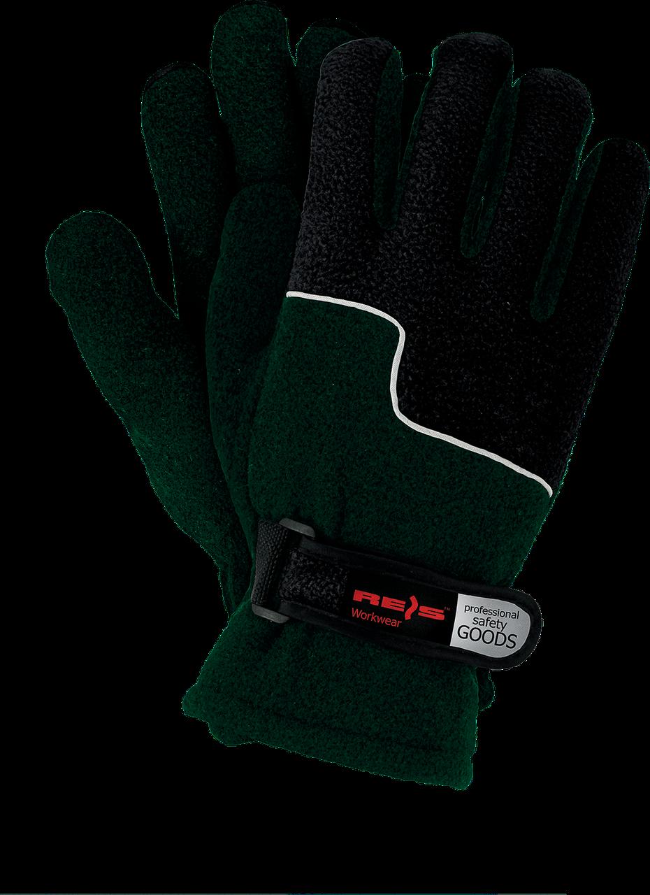 Перчатки защитные RPOLTRIP ZB утепленные, изготовленные из флиса REIS