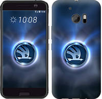 "Чехол на HTC 10 Skoda. Logo ""3171c-464-12506"""
