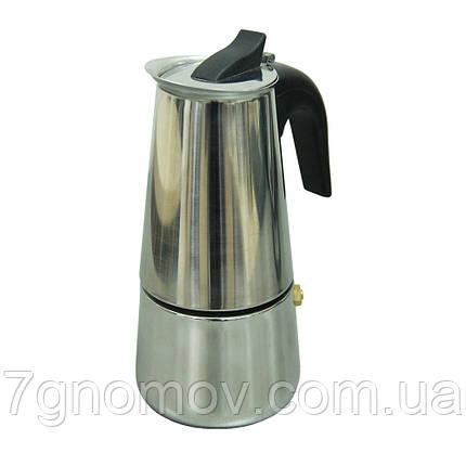 Гейзерная кофеварка Классик 200 мл, фото 2