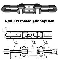 Цепи тяговые разборные ГОСТ 589-85 (шахтные)