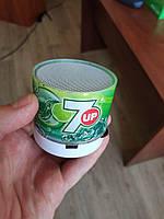Портативная беспроводная Bluetooth колонка MINI LED SPEAKER зеленая