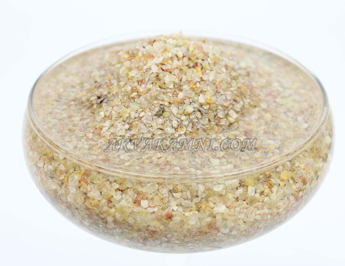 Песок кварцевый светлый (2мм)