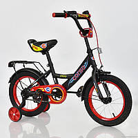 """Велосипед 14"""" дюймов 2-х колёсный С14340 """"CORSO"""" ЧЕРНЫЙ, фото 1"""