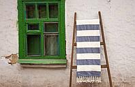 Пляжное плед покрывало 135*160 Barine Deck Throw Blue голубое