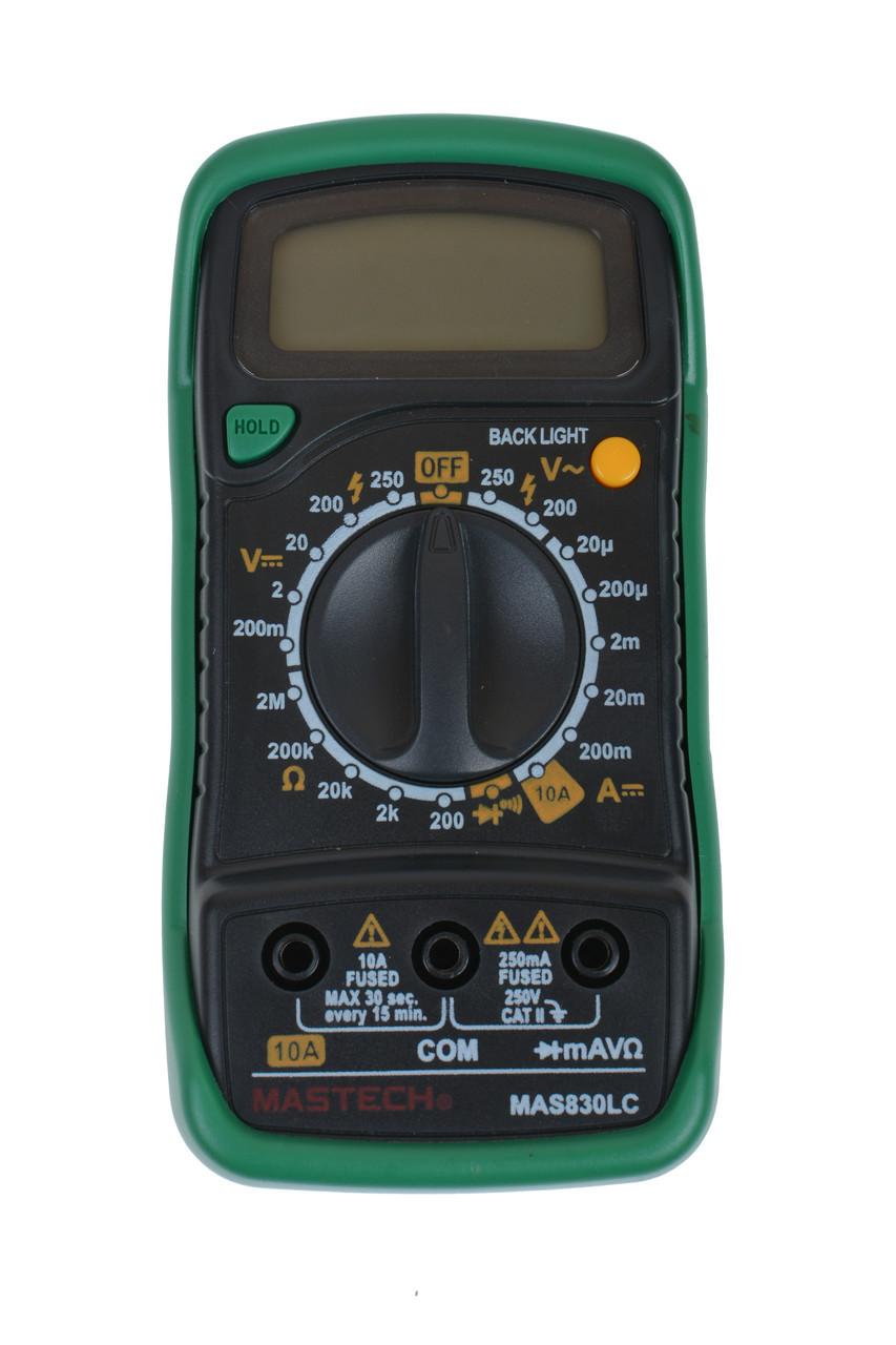 Мультиметр цифровий Mastech MAS830LC