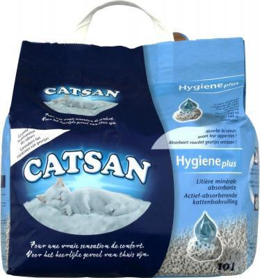 Catsan (Кетсан) HYGIENE plus Наполнитель 10 л