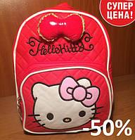 Рюкзак с бантом Hello Kitty Эко-кожа, Ранец, Портфель