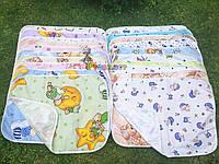 Пеленка-клеенка непромокаемая многоразовая цветная (набор 3 шт), фото 1