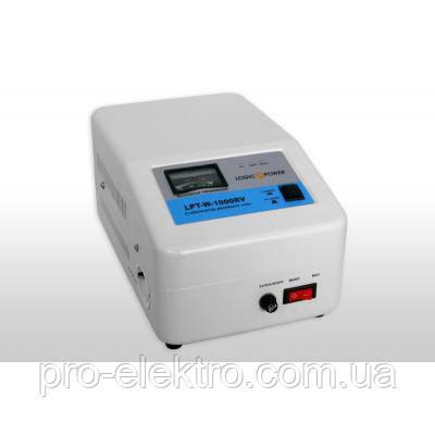 Стабилизатор напряжения LogicPower LPT-W-1000RV (Белый), фото 2